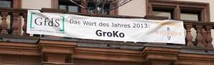 Banner zum Wort des Jahres 3013