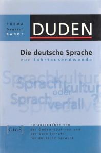 DUDEN 01_Die deutsche Sprache