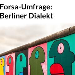 Banner Umfrage Dialekt