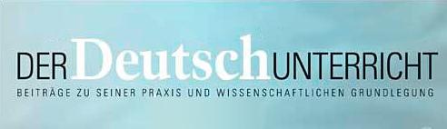 Zeitschrift »Der Deutschunterricht«