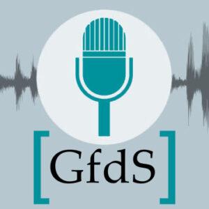 Cover des GfdS-Podcasts »Raus mit der Sprache«
